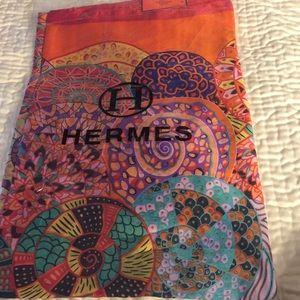 Authentic Hermès Silk Scarf